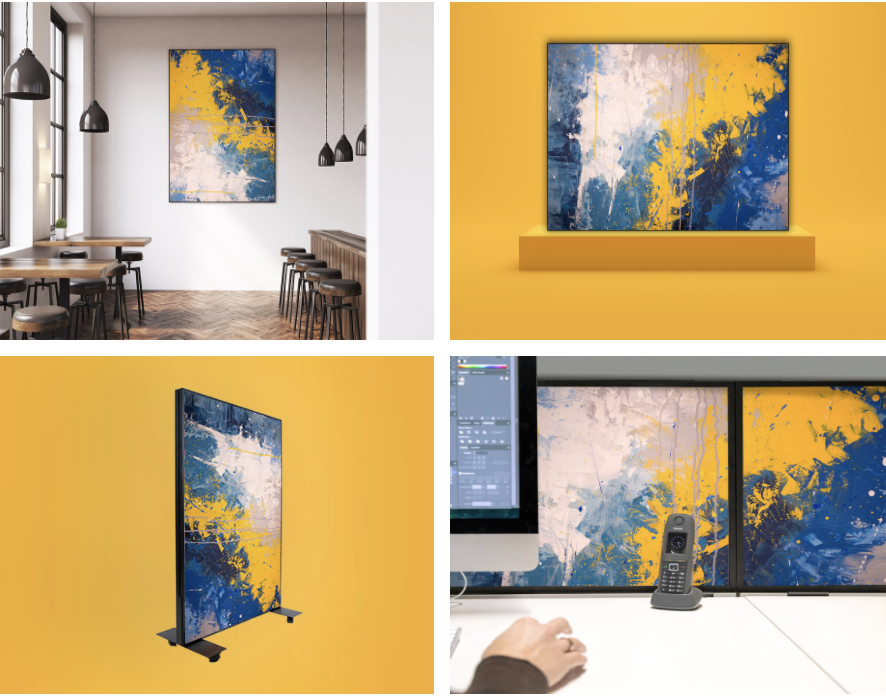 Nachhaltiges Schallschutz Paneel - Akustik Wandbilder